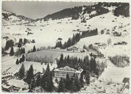 Gstaad - Mit Dem Flugzeug über Gstaad Hotel Bellevue - BE Berne