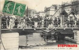 CPA 13 : N°197 - MARSEILLE - VIEUX PORT - PONT DU CANAL DE LA DOUANE - édition EL - Old Port, Saint Victor, Le Panier