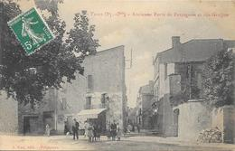 CPA - THUIR - Ancienne Porte De Perpignan Et Rue Graffan. - Altri Comuni