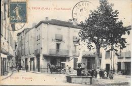 CPA - THUIR - Place Nationale. - Altri Comuni