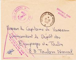France, Poste Navale ,agences Postales, Batiment D'appui, Base Moselle  En 1969 Type 2 - Other