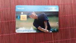 Phonecard Belgium Golf Player  Sport 10 Euro Used  Rare - Belgien