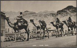 Camel Train, Aden, C.1950s - Bondfix Series RP Postcard - Yemen