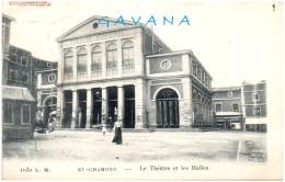 42 SAINT-CHAMOND - Le Théatre Et Les Halles - Saint Chamond
