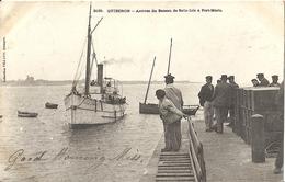 CPA Quiberon Arrivée Du Bateau De Belle-Isle à Port-Maria - Quiberon