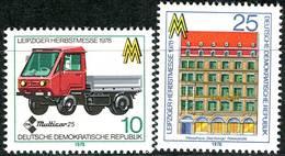 DDR - Mi 2353 / 2354 - ** Postfrisch (B) - 10-25Pf     Leipziger Herbstmesse 78 - [6] Oost-Duitsland