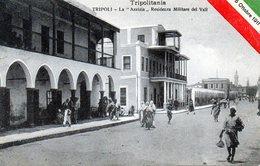 """TRIPOLI - LA """"AZZIZIA"""" RESIDENZA MILITARE DEL VALI' - LIBIA - VIAGGIATA - Libyen"""