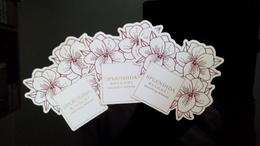 BULGARI Splendida Parfum Lot De 3 Billet - Perfume Cards