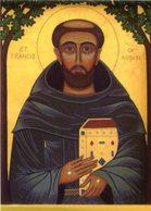 Santino Lucido SAN FRANCESCO D'ASSISI (marcato SC 205) - PERFETTO P40 - Religione & Esoterismo