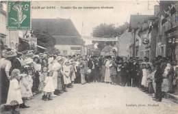 21 - COTE D'OR / Pontailler Sur Saone - 218013 - Première Fête Des Commerçants Détaillants - Beau Cliché Animé - France