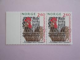 1989 Norvège Oiseaux Birds Yvert 978 X 2 ** Scott Xx Michel 1021 SG 1061 - Oiseaux