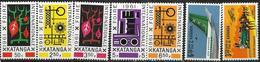 _3Rv-407: Restje Van 7 Zegels: XX : Postfris. .. Om Verder Uit Te Zoeken - Katanga