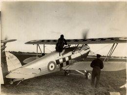 Hawker Fury  1 K1930     ++  20 * 14 CM Aviation, AIRPLAIN, AVION AIRCRAFT - Aviación