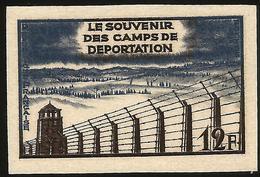 YVERT 1023 SOUVENIR DES CAMPS DE DÉPORTATION  - NON DENTELÉ - France