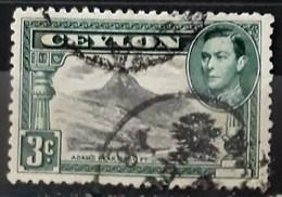 CEILÁN 1938 -1949 King George VI - Local Motives. USADO - USED. - Sri Lanka (Ceylon) (1948-...)