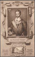Sir Humphrey Gilbert Of Compton, Devon, C.1910s - Worth's Series Postcard - Historical Famous People