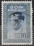 CEILÁN 1961 Solomon Bandaranaike, 1899-1959. USADO - USED. - Sri Lanka (Ceylon) (1948-...)
