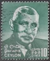 CEILÁN 1966 Dudley Shelton Senanayake, 1911-1973. USADO - USED. - Sri Lanka (Ceylon) (1948-...)