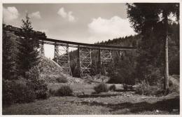 Dampfzug Auf Der Strecke Triptis-Lobenstein-Hof,auf Der Ziehmestalbrücke,ungelaufen - Eisenbahnen