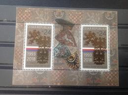 Tsjechië / Czech Republic - Postfris / MNH - Sheet 25 Jaar Tsjechische Republiek 2018 - Tsjechië