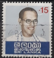 SRI LANKA 1974 The 15th Anniversary Of The Death Of Prime Minister Bandaranaike, 1899-1959. USADO - USED. - Sri Lanka (Ceylon) (1948-...)