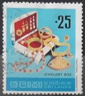 SRI LANKA 1977 Handicrafts. USADO - USED. - Sri Lanka (Ceylon) (1948-...)