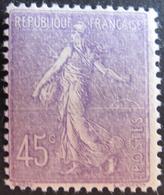 R1752/402 - 1924/1926 - TYPE SEMEUSE - N°197 NEUF* - 1903-60 Sower - Ligned