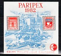 France BF  3 CNEP Salon De Printemps 1982 Neuf ** LUXE MNH Sin Charnela - CNEP