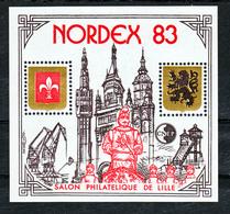 France BF  4A CNEP Salon De Printemps 1983 Neuf ** LUXE MNH Sin Charnela - CNEP