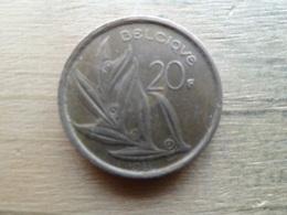 Belgique  20  Francs  Fr  1981  Km 159 - 07. 20 Francs