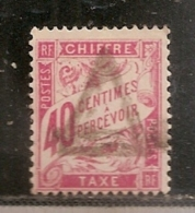 FRANCE TAXE  N° 35       OBLITERE - 1859-1955 Usati