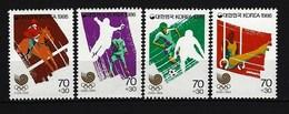 SÜDKOREA - Mi-Nr. 1435 - 1438 Olympische Sommerspiele 1988, Seoul Postfrisch (2) - Korea (Süd-)