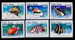 Vietnam Viet Nam MNH Perf Stamps 1995 : Coral Sea Fishes / Fish  (Ms703) - Vietnam
