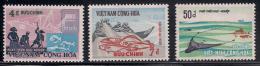 South Vietnam Viet Nam MNH Stamps 1972 - Scott#408-410 : Fishing Industry / Fish - Viêt-Nam
