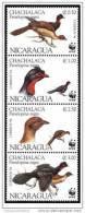 (WWF-176) W.W.F. Nicaragua MNH Highland Guan / Bird Stamps 1994 - W.W.F.