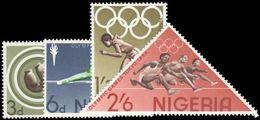 Nigeria 1964 Olympic Games Tokyo Unmounted Mint. - Nigeria (1961-...)