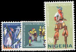 Nigeria 1967 4th Anniv Of Republic Unmounted Mint. - Nigeria (1961-...)