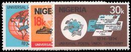 Nigeria 1974 Centenary Of Universal Postal Union Unmounted Mint. - Nigeria (1961-...)