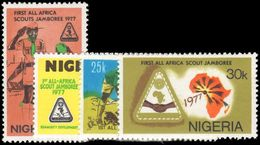 Nigeria 1977 First All-Africa Scout Jamboree Unmounted Mint. - Nigeria (1961-...)