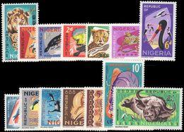 Nigeria 1965-66 Set Unmounted Mint. - Nigeria (1961-...)