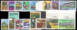 Nigeria 1973-74 Litho Set Unmounted Mint. - Nigeria (1961-...)