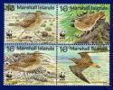 (WWF-219) W.W.F. Marshall Islands Bird MNH Stamps 1997 - W.W.F.