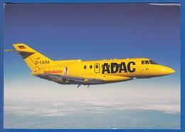 Flugzeug; ADAC; BAe Hawker Siddley 125; Ambulanzeinsatz - 1946-....: Moderne