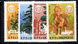 353 490 - ALBANIA 1984, Yvert N. 2040/2043  ***  MNH - Albania