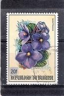 Burundi - Fleurs - Surchargé 20fr - COB 962B - Non Catalogué Chez Y&T - Obl/gest/used (à Voir) - Burundi