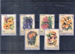 Burundi - Fleurs - PA.353/58 - Série Complète - Obl/gest/used (à Voir) - 1980-89: Used