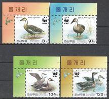 (WWF-349) W.W.F. Korea Swan Goose / Bird MNH Stamps 2004 - W.W.F.