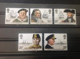 Groot-Brittannië / Great Britain - Postfris / MNH - Complete Set Britse Zeevaart 1982 - 1952-.... (Elizabeth II)