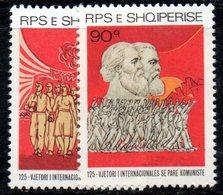 355 490 - ALBANIA 1989, Yvert N. 2205/2206  ***  MNH - Albania