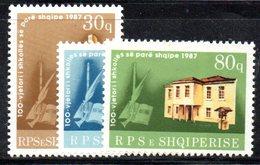 356 490 - ALBANIA 1987, Yvert N. 2133/2135  ***  MNH - Albania